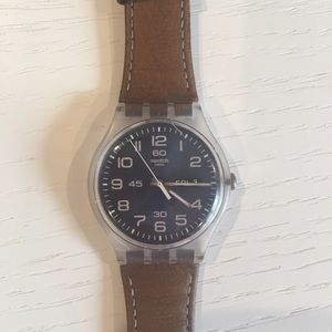 Swatch watch (water resistant & almost new)